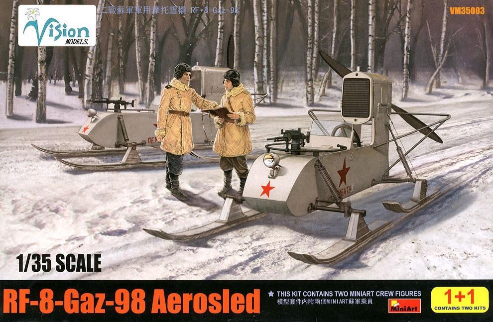 VISION MODELS VM35003 Soviet Aerosled RF-8 GAZ-98 (WWII)
