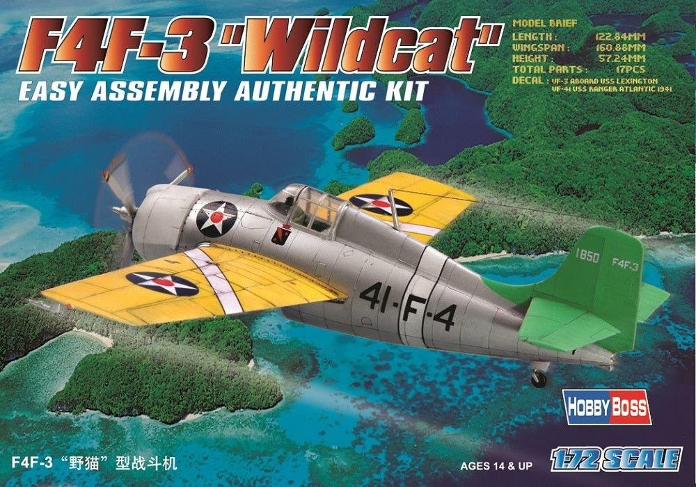 HOBBYBOSS 80219 Grumman F4F-3 'Wildcat'