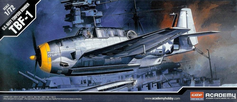 ACADEMY 12452 Grumman TBF-1 'Avenger'