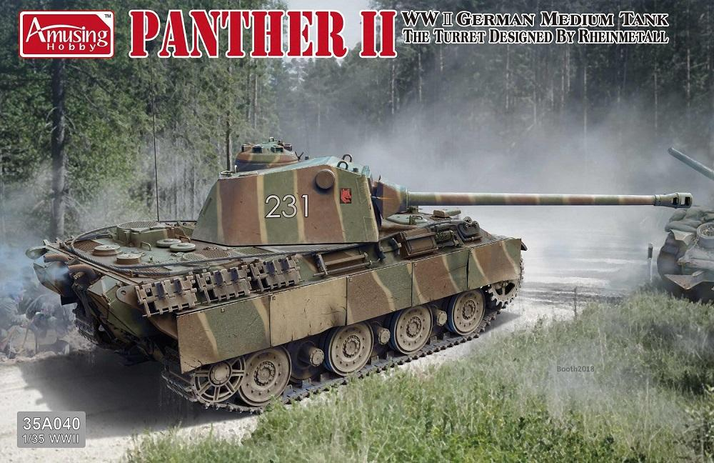 AMUSING HOBBY 35A040 German Medium Tank 'Panther II'