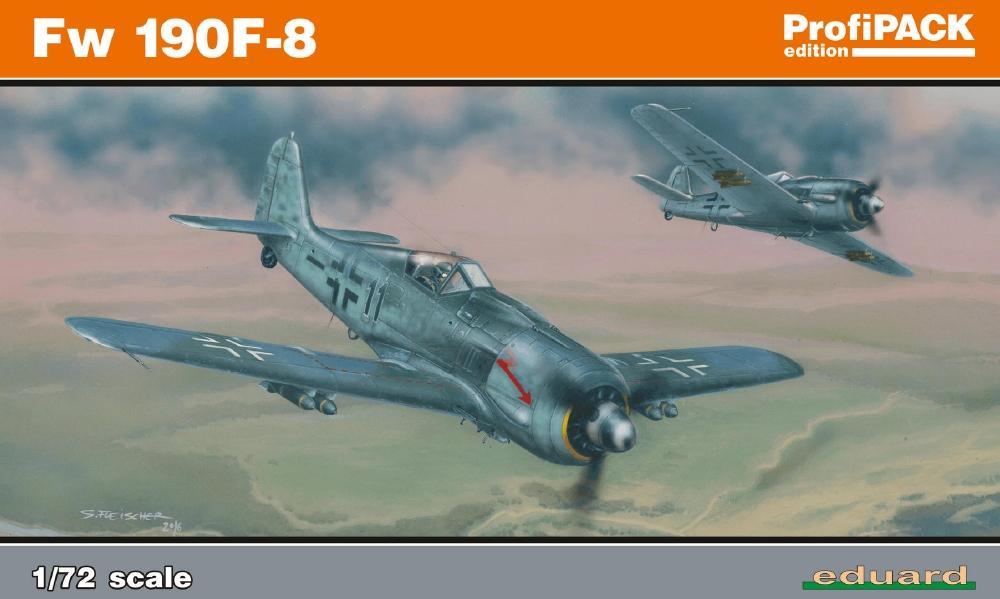 EDUARD 70119 Focke-Wulf Fw-190F-8 (Profipack)
