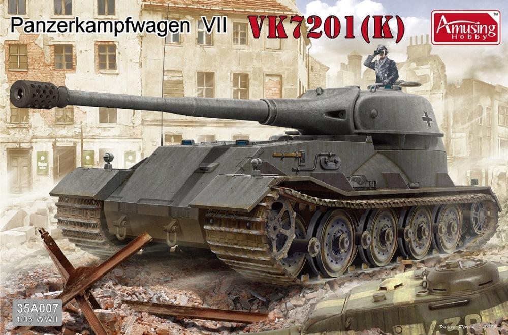 AMUSING HOBBY 35A007 Panzerkampfwagen VII VK7201 (K)