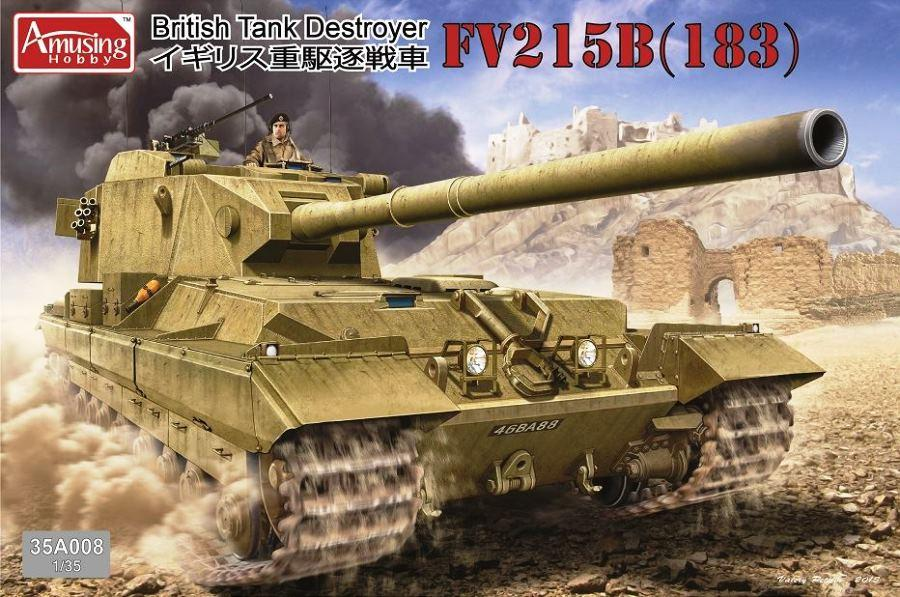 AMUSING HOBBY 35A008 British Tank Destroyer FV215B (183)