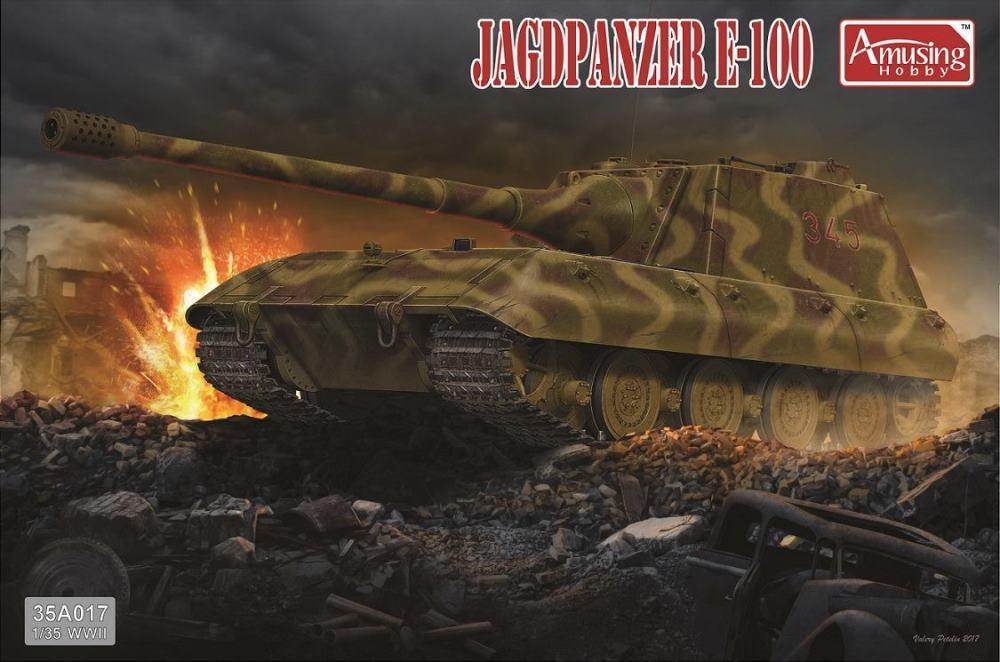 AMUSING HOBBY 35A017 Jagdpanzer E-100