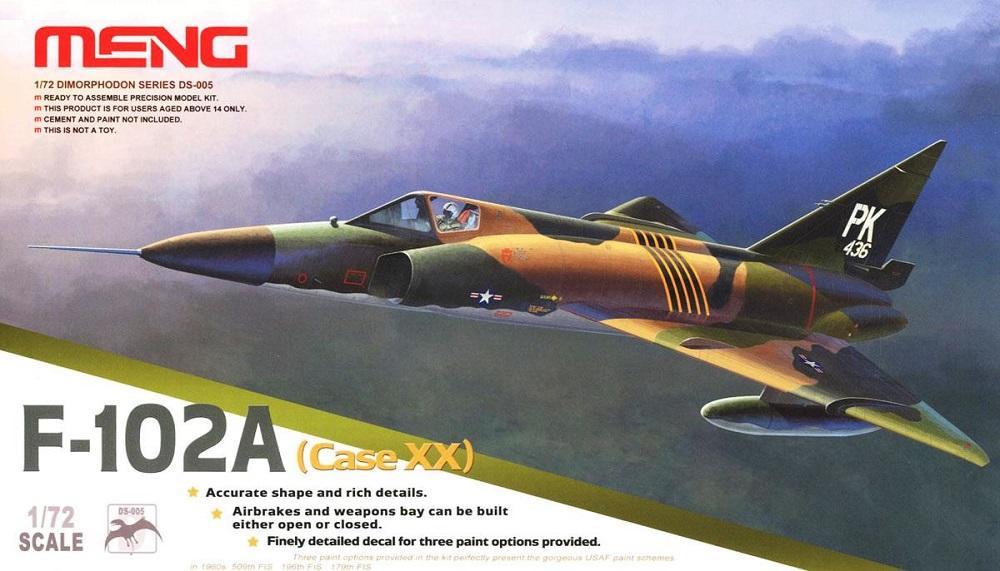 MENG MODEL DS005 Convair F-102A Delta Dagger (Case XX)