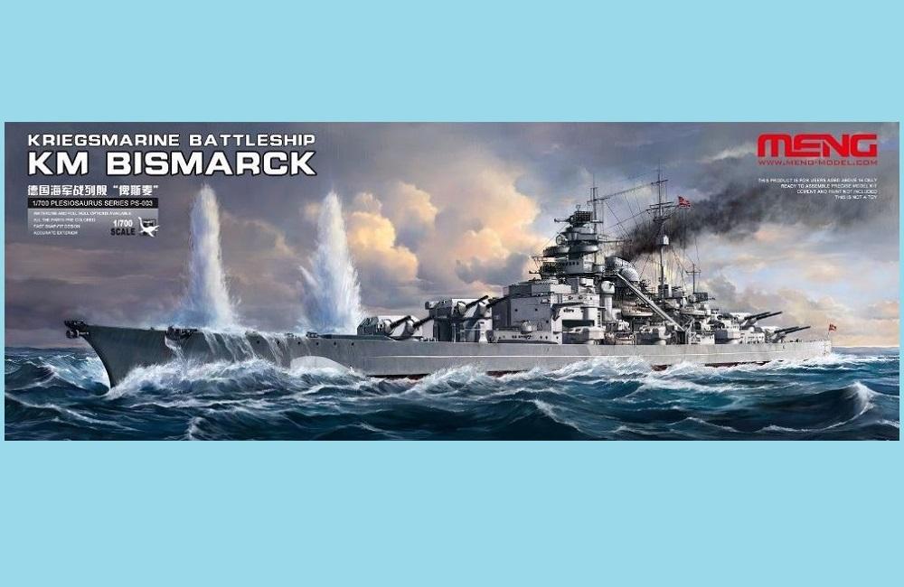 MENG MODEL PS003 Kriegsmarine Battleship KM Bismarck