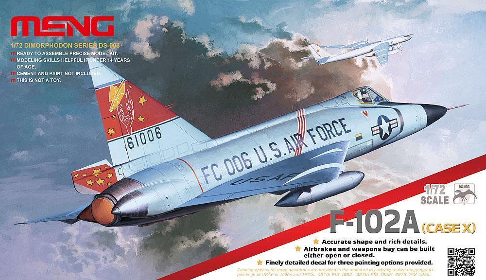 MENG MODEL DS003 Convair F-102A Delta Dart (Case X)