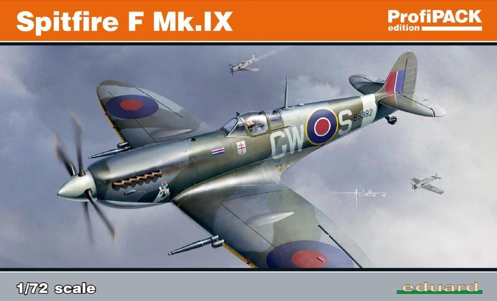 EDUARD 70122 Supermarine Spitfire F Mk.IX (Profipack)