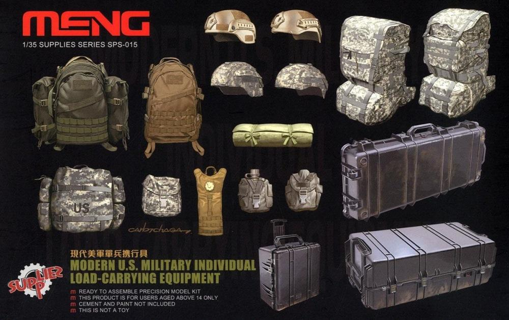 MENG MODEL SPS015 Modern U.S. Military Individual Load-Carrying Equipment