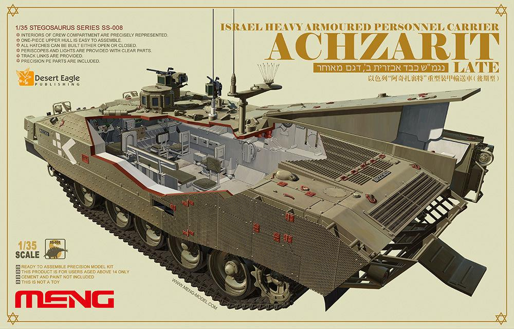 MENG MODEL SS008 Israel Heavy Armoured Personnel Carrier Achzarit (Late)