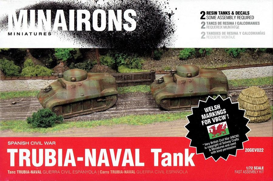 MINAIRONS 20GEV022 Trubia-Naval Tank (Guerra Civil Española)