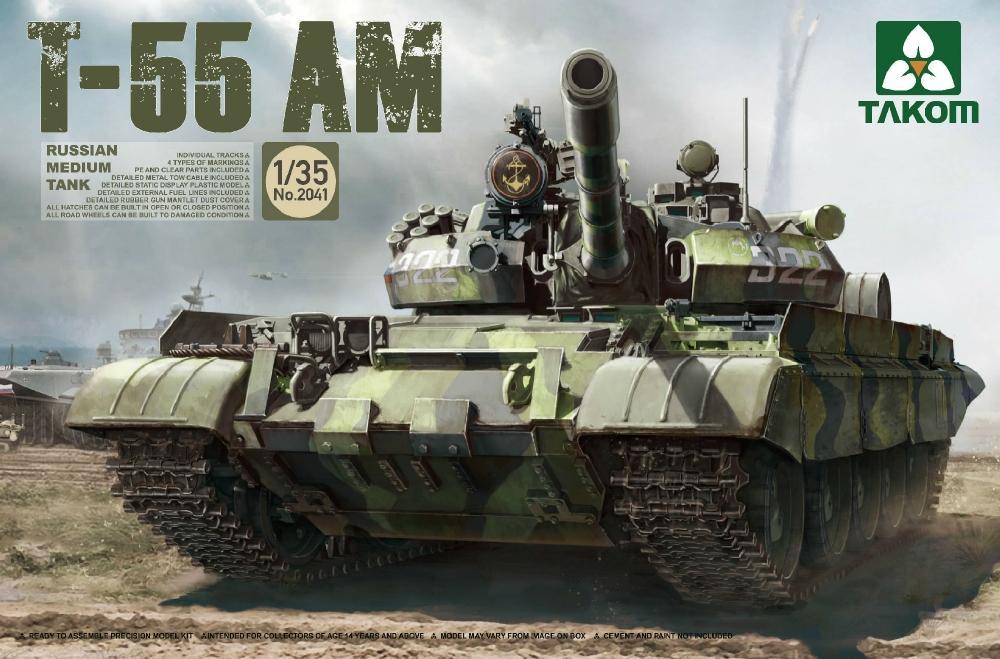TAKOM 2041 Russian Medium Tank T-55 AM