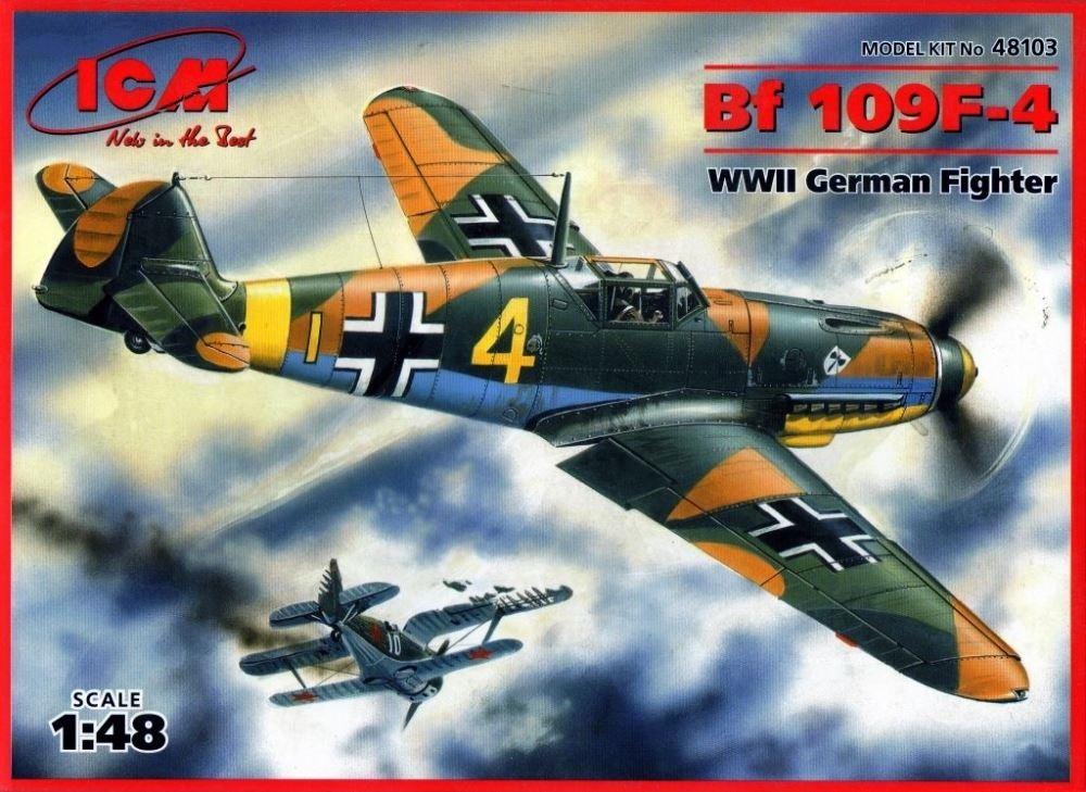 ICM 48103 Messerschmitt Bf 109F-4