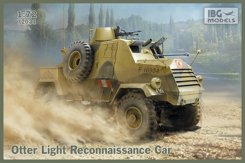 IBG MODELS 72031 Otter Light Reconnaissance Car