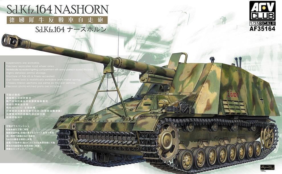 AFV CLUB AF35164 German Sd.Kfz.164 'Nashorn'