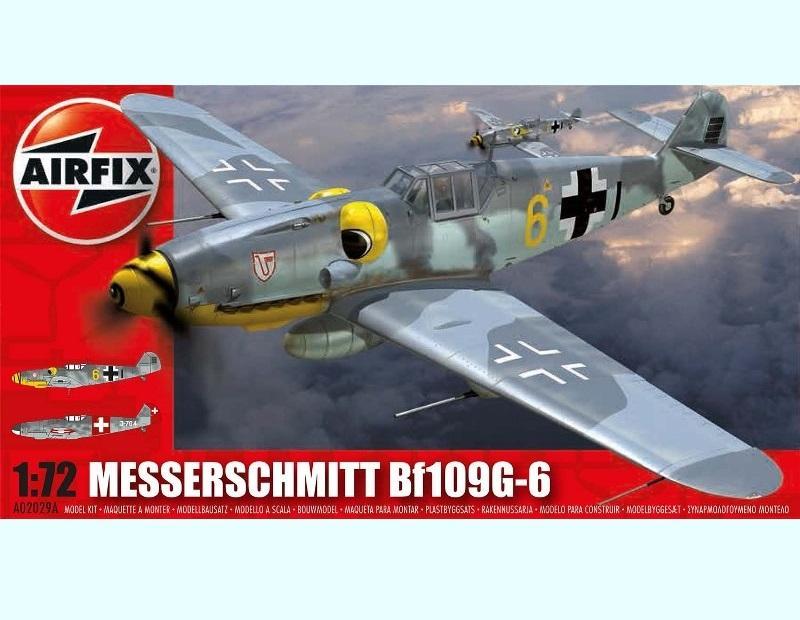 AIRFIX 02029A Messerschmitt Bf 109G-6