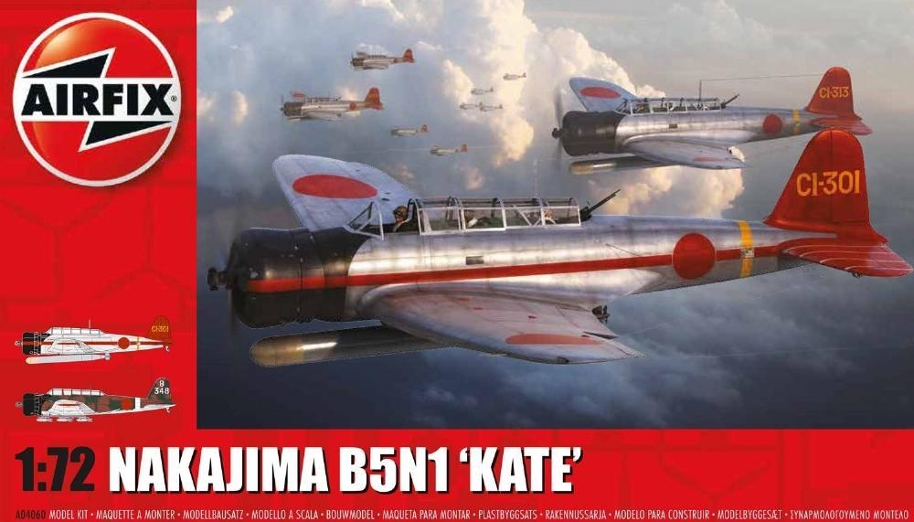 AIRFIX 04060 Nakajima B5N1 'Kate'