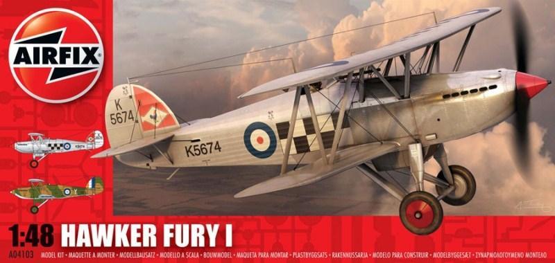 AIRFIX 04103 Hawker Fury I