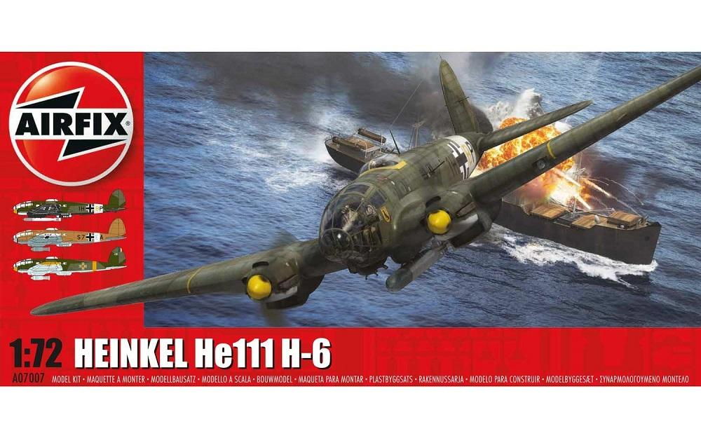 AIRFIX 07007 Heinkel He 111H-6