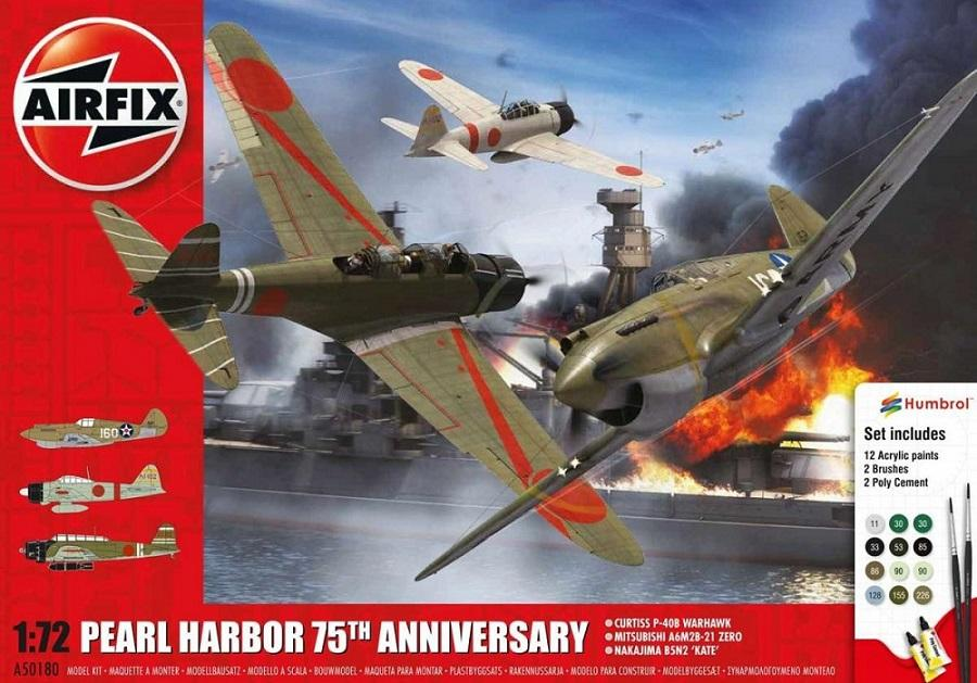 AIRFIX 50180 Pearl Harbor 75th Anniversary (Gift Set)