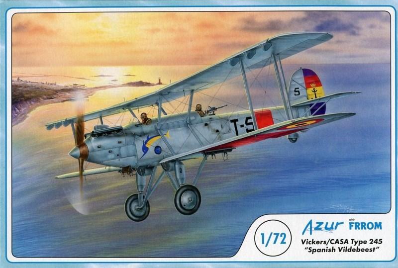 FRROM-AZUR 018 Vickers/Casa Type 245 'Spanish Vildebeest'