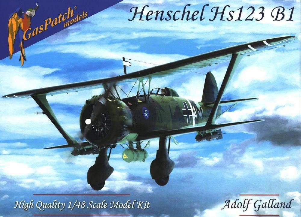 GASPATCH MODELS 48096 Henschel Hs 123B-1