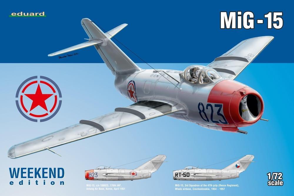 EDUARD 7423 Mikoyan MiG-15 (Weekend Edition)