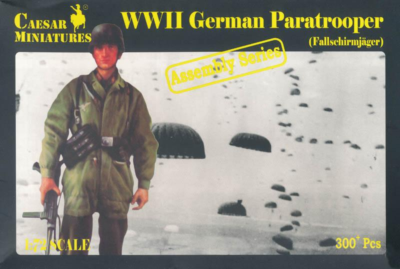 CAESAR MINIATURES 7712 German Paratrooper 'Fallschirmjäger' (WWII)