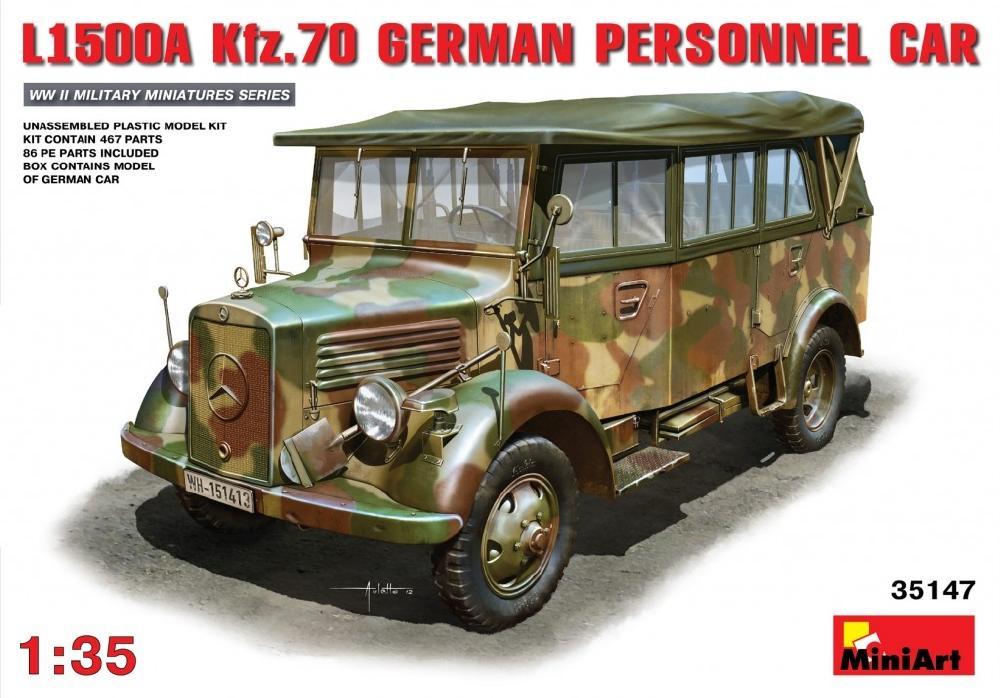 MINIART 35147 German Personnel Car L1500A (Kfz.70)