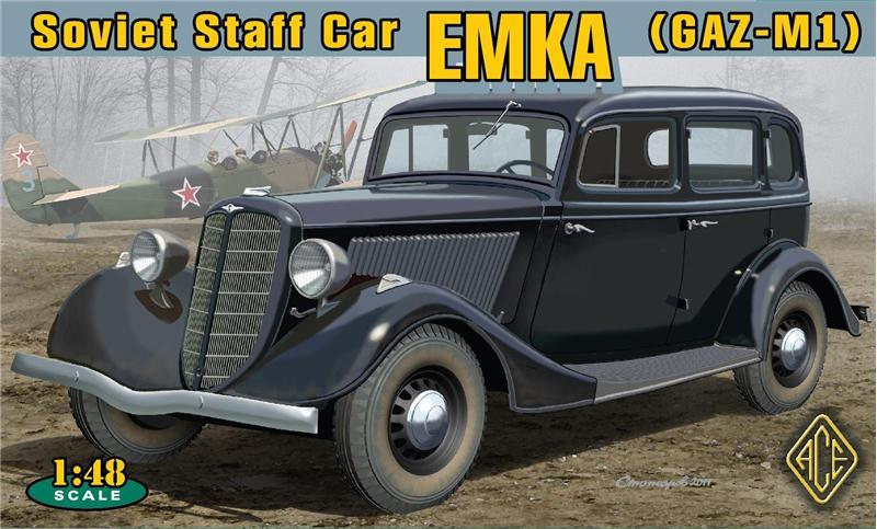 ACE 48104 Soviet Staff Car Emka (GAZ-M1)