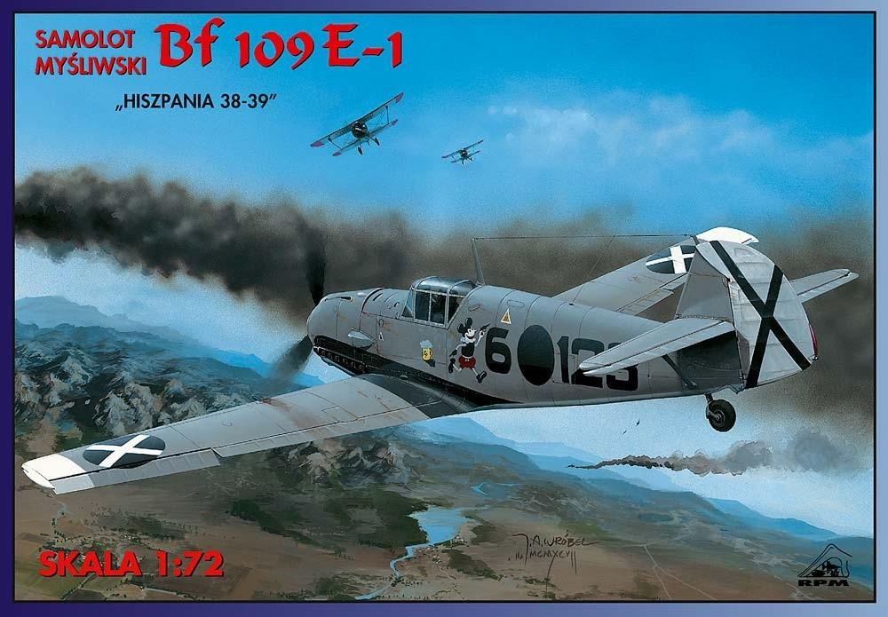 RPM 72008 Messerschmitt Bf 109E-1 (Spanish Civil War)