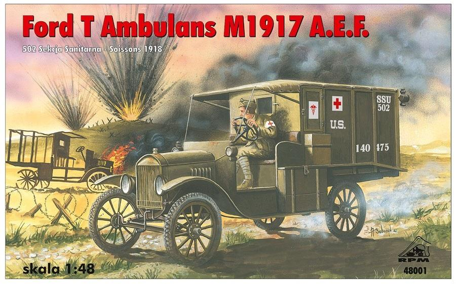 RPM 48001 Ford T Ambulance M1917 A.E.F.
