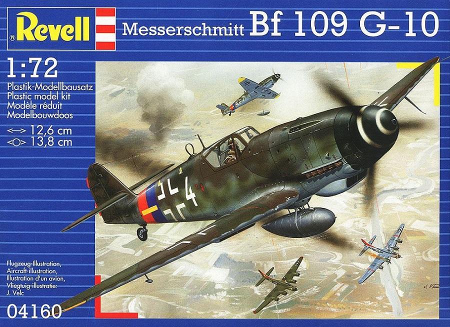 REVELL 04160 Messerschmitt Bf 109G-10 (WWII)