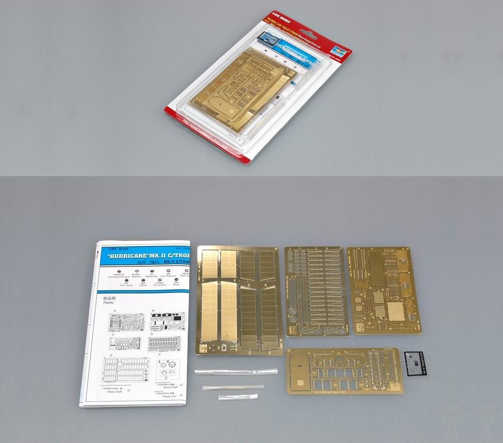 TRUMPETER 06604 Photo Etched Parts for Hawker Hurricane Mk.IIc/Trop