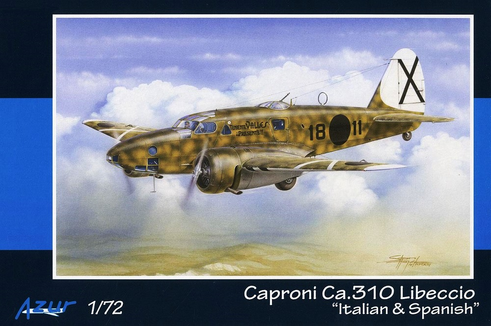 AZUR A106 Caproni Ca.310 'Libeccio' (Spanish Civil War)