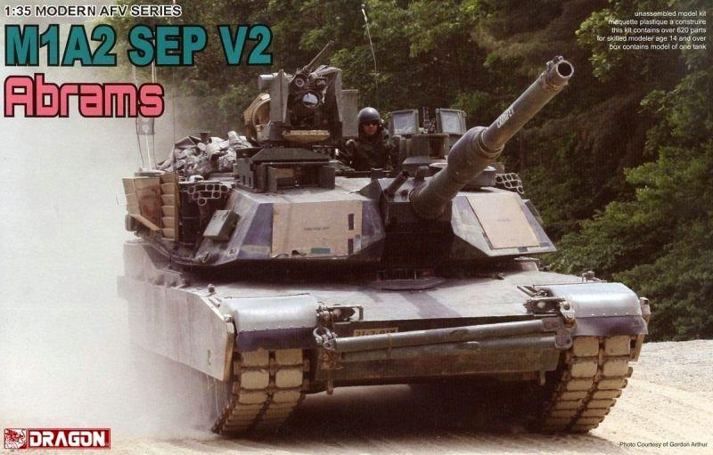 DRAGON 3556 Abrams M1A2 SEP V2