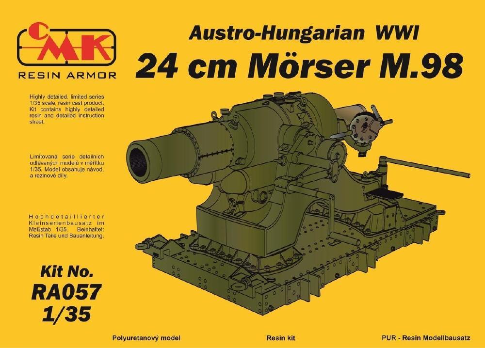 CMK RA057 Austro-Hungarian 24 cm Mörser M.98 (WWI)