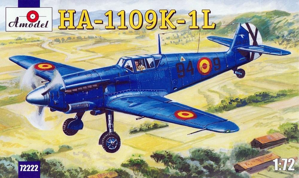 AMODEL 72222 Hispano Aviación HA-1109K-1L 'Buchón'