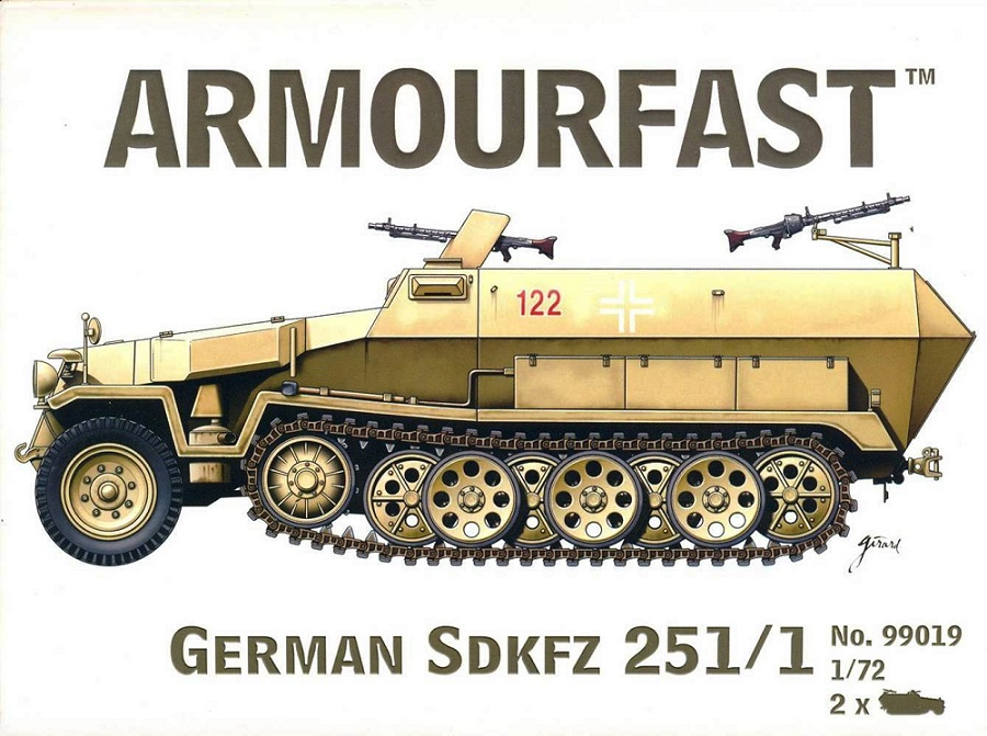 ARMOURFAST 99019 German Sd.Kfz.251/1 Hanomag