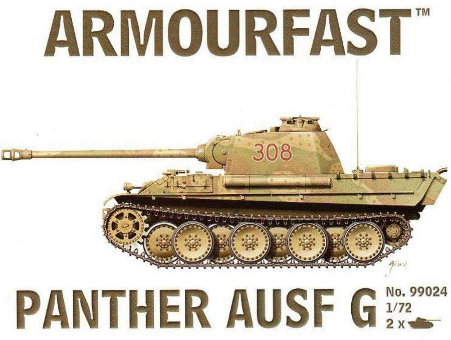 ARMOURFAST 99024 German Pz.Kpfw.V 'Panther'