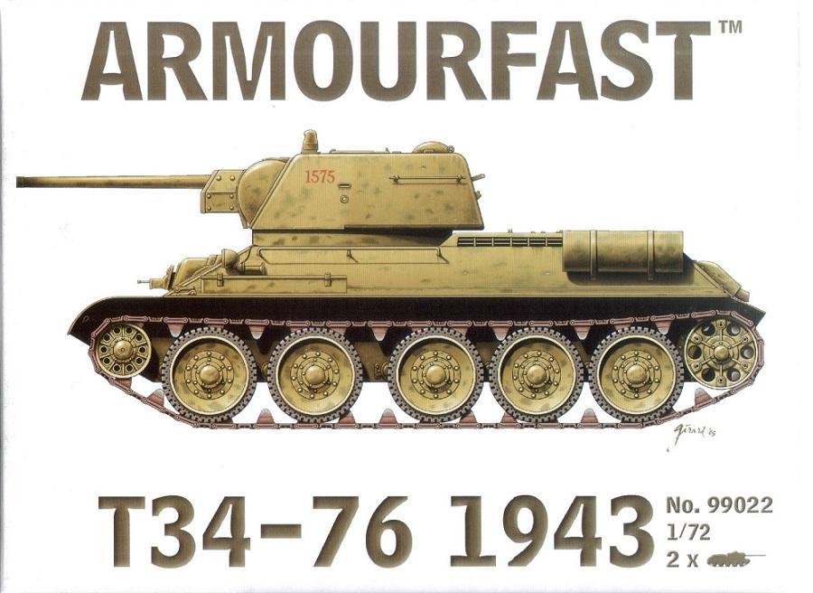 ARMOURFAST 99022 Soviet T-34/76 Mod.1943