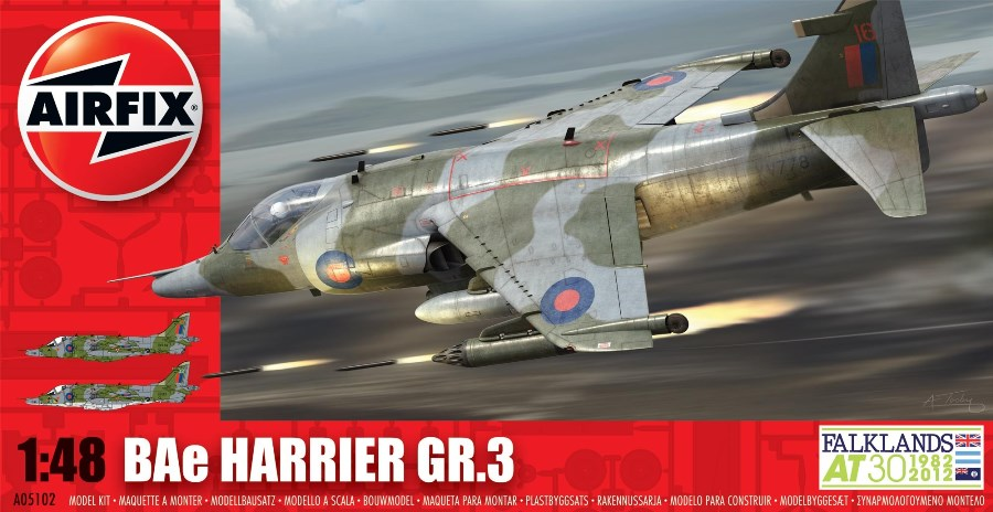 AIRFIX 05102 BAe Harrier GR.3