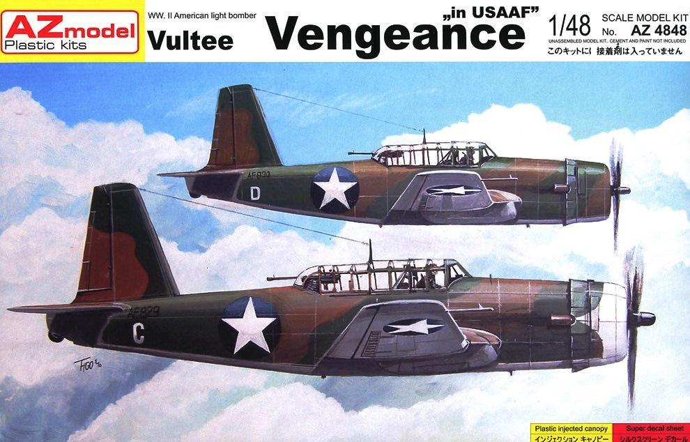 AZ MODEL 4848 Vultee Vengeance A-35 (U.S.A.A.F.)
