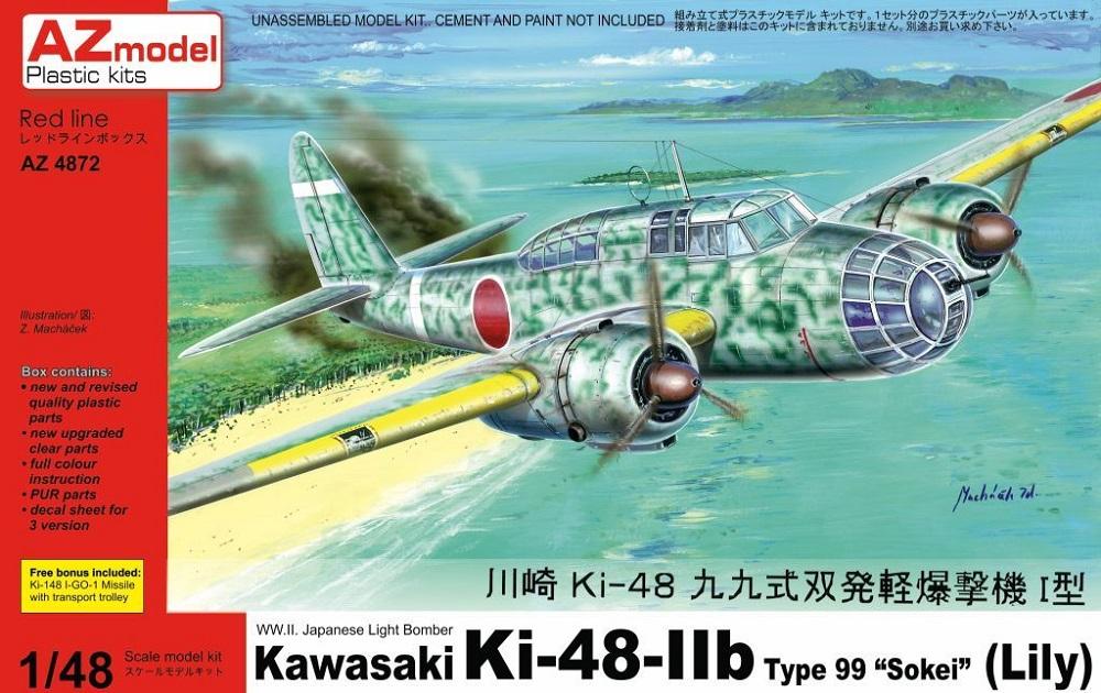 AZ MODEL 4872 Kawasaki Ki-48-IIb Sokei 'Lily'