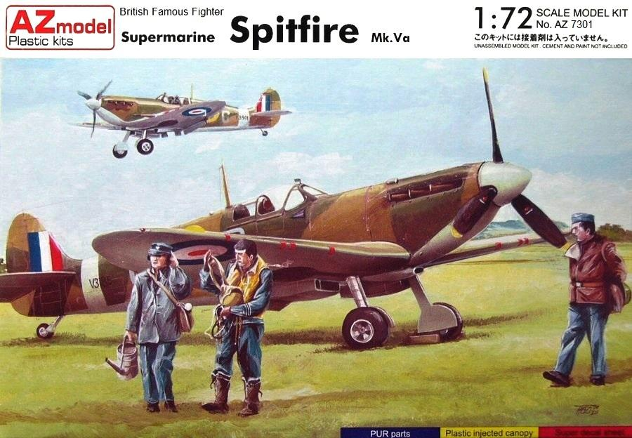 AZ MODEL 7301 Supermarine Spitfire Mk.Va