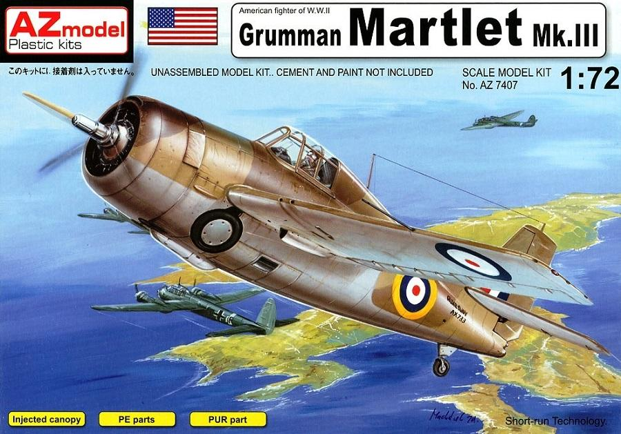AZ MODEL 7407 Grumman Martlet Mk.III