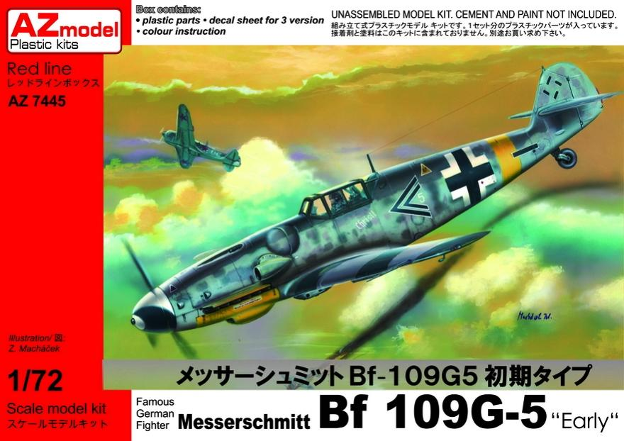 AZ MODEL 7445 Messerschmitt Bf 109G-5 (Early Version)