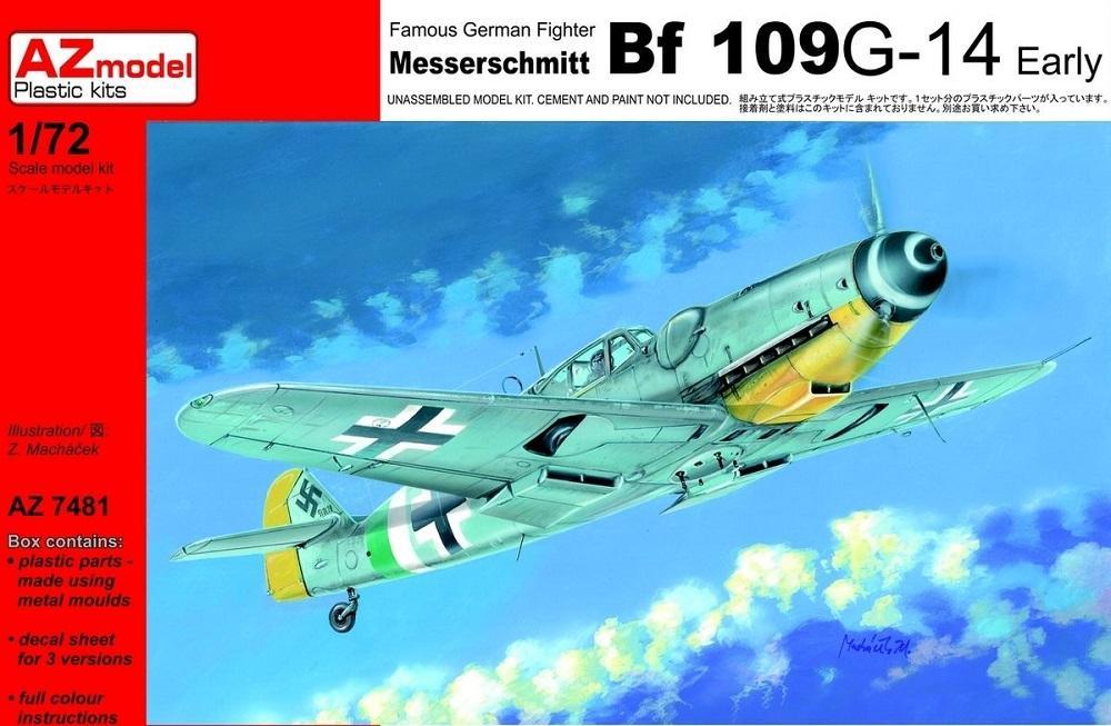 AZ MODEL 7481 Messerschmitt Bf 109G-14 'Early'