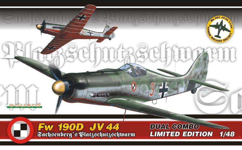 EDUARD 1154 Focke-Wulf Fw 190D JV 44 (Dual Combo)