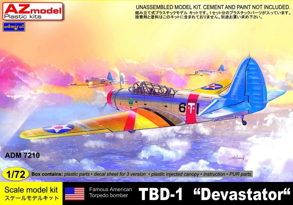 ADMIRAL - AZ MODEL 7210 Douglas TBD-1 'Devastator' (WWII)